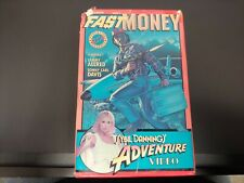 Fast Money VHS (1981) - cult vhs - Sybil Dannings Adventure Video - BIG BOX