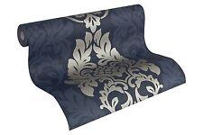 Tapete Vlies Barock  blau silber AS Fleece Royal 96190-5 (3,67€/1qm)