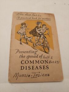 1926 Lysol Advertising Preventing The Spread Of Common Diseases