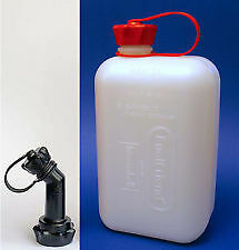 JERRY CAN 2L + angled spout, Fuel Friend, HDPE, Bike, Scooter  ATV
