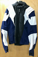 """AXO Racing"" Jacket Black / White Large - Zip-Off Sleeves, Liner  - CLOSEOUT!"
