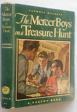 CAPWELL WYCKOFF.THE MERCER BOYS ON A TREASURE HUNT.1ST/1 1948,WORLD A-3