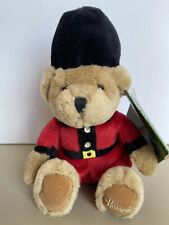 "Harrods Knightsbridge Bear plush Toy Nwt 7 1/2"" Sitting"