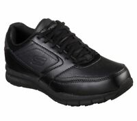 Womens Skechers Memory Foam 77235 NAMPA WYOLA Non Skid Slip Resistant Work Shoes