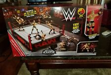 WWE Raw Authentic Elite Scale WrestleMania Main Event Ring with Goldberg Figure