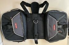NEW! EZYDOG Black Summit Backpack w/ Award Winning Harness Chest Plate Size Med
