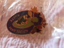 Austin Pond Society Club Pin Water Gardening Clubs Koi AKCA Vintage