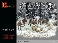 SECONDE GUERRE MONDIALE Russe Infanterie In Winter robe lot de 2