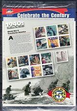 SELLOS TEMA CINE. E.E.U.U. 1998 2838/52. 15v. MH SIGLO XX 1940