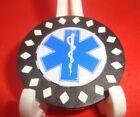 EMS Star of Life Caduceus Medical Design Poker Chip Golf Ball Marker Card Guard-