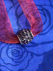 Brighton Crystal Voyage Purple Bead Hard To Find