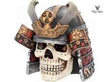 The Last Samurai Skull Head Fantasy Figure Skull Ornament Figurine Decor Gift