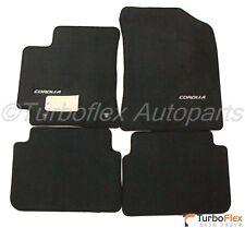 Toyota Corolla 2009-2013 Dark Charcoal Floor Mat Set Genuine OEM  PT206-02092-12