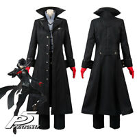 Persona 5 Joker Protagonist Cosplay Costume Outfit Coat Suit Full Set  IN STOCK