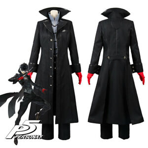 Persona 5 Joker Protagonist Cosplay Costume Outfit Uniform