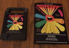 FATSO Odyssey2 homebrew videogame cartridge Videopac Magnavox manual FAST FOOD