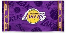 "NBA Los Angeles Lakers Wincraft 30"" X 60"" Beach Pool Towel NEW!"