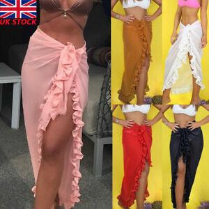 Women Bikini Cover Up Beach Wear Swimwear  Swimsuit Wrap Skirt Sarong Dress