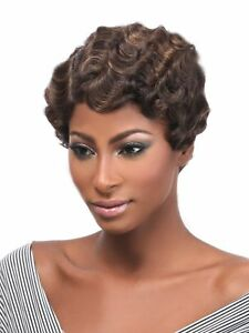 MEGA SEXY MOM-2 - HAIR TOPIC SYNTHETIC REMI TOUCH FULL WIG MAMA CURL STYLE