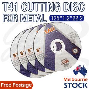 "5"" CUTTING DISC 125mm METAL CUT OFF WHEEL ANGLE GRINDER THIN Steel Metal1.2mm"