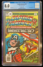 1976 Marvel Captain America #200 CGC 8.0 Off White - White Pages 30 Cent Variant