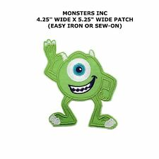Disney MIKE MONSTERS INC. Embroidered Iron On / Sew On Patch