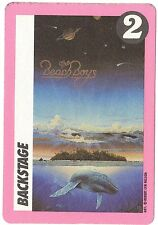 BEACH BOYS 1990 Still Cruisin' Tour Backstage Pass!!! Authentic concert stage