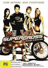 SUPERCROSS THE MOVIE DVD_ MOTORCYCLE RACING |Region 4 DVD | RARE OOP