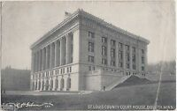 c1910 DULUTH Minnesota Minn Postcard Mn ST LOUIS COUNTY COURT HOUSE