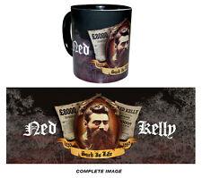 NED KELLY SOUVENIR/MEMORABILIA (AUSTRALIAN BUSH RANGER) COFFEE MUG