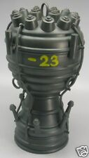 V-2 Ballistic Missile Engine Mahogany Wood Model Large New