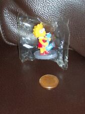 Mini Lisa Simpson Saxaphone Figure, BNIB, Made in UK, Combine Ship, Simpsons