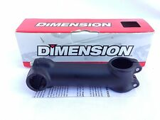 """New! Dimension SM4571 Forged Threadless Bicycle Bike Stem 1-1/8"""" /120mm /130^Blk"""