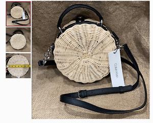 Circle Basket Calvin Klein Crossbody Bag BRAND NEW MSRP 158$