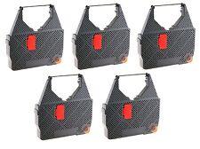 5 x Cinta de color Tamaño 313C Olivetti ET 2100 2200 2300 2400 2500 Worldcart