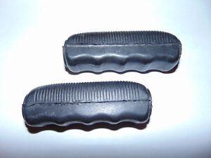 Pair of Wolseley Merry Tiller Handlebar Grips. Rotavator,Rotovator,Cultivator