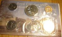 1977 Canada PL RCM Set (6 Coins UNC.)