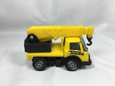 "Tonka Truck 1980's Yellow Crane Lift Trunck 3.5"""