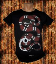 Men`s T-Shirt Gucci King Snake GG Print Size M