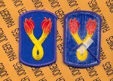 US Army 196th Infantry Brigade Dress uniform shoulder patch m/e