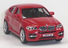 NEU: BMW X6 SUV Sammlermodell rot ca. 1:43 / 10cm Neuware von RMZ City