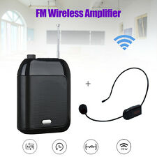 Portable Aporo Recording Loop Play Loudspeaker+Wireless/wired FM Mic+Waistband