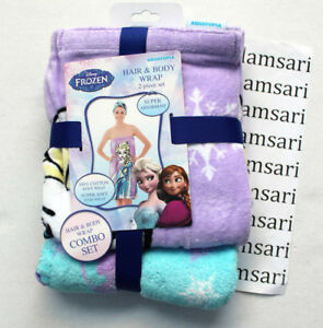 Disney Frozen Elsa Hair & Body Wrap 2-Piece Combo Set