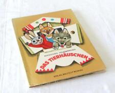 POP UP - Das Tierhäuschen - russisches Märchen, Bilderbuch - Malysch / DDR 1983