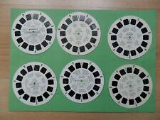 6 disques view master  Divers  état voir photos