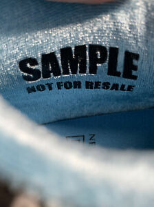 *SAMPLE* Exclusive New Balance 574 Grey Blue Gray RARE Size 9.5 Never Released!
