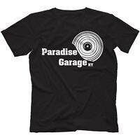 Paradise Garage T-Shirt 100% Cotton Disco House Larry Levan Salsoul Chicago