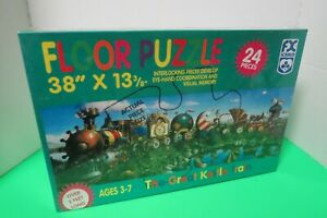 The Great Kettle Train Floor Puzzle FX Schmid New Sealed In Box Ages 3-7