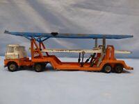 Vintage Corgi Ferrymasters Scammell Carrimore Trideck Car Transporter Truck Toy