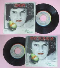 LP 45 7'' CRISTIANO MALGIOGLIO Sbucciami Mentre fuori piove 1979 italy cd mc*dvd